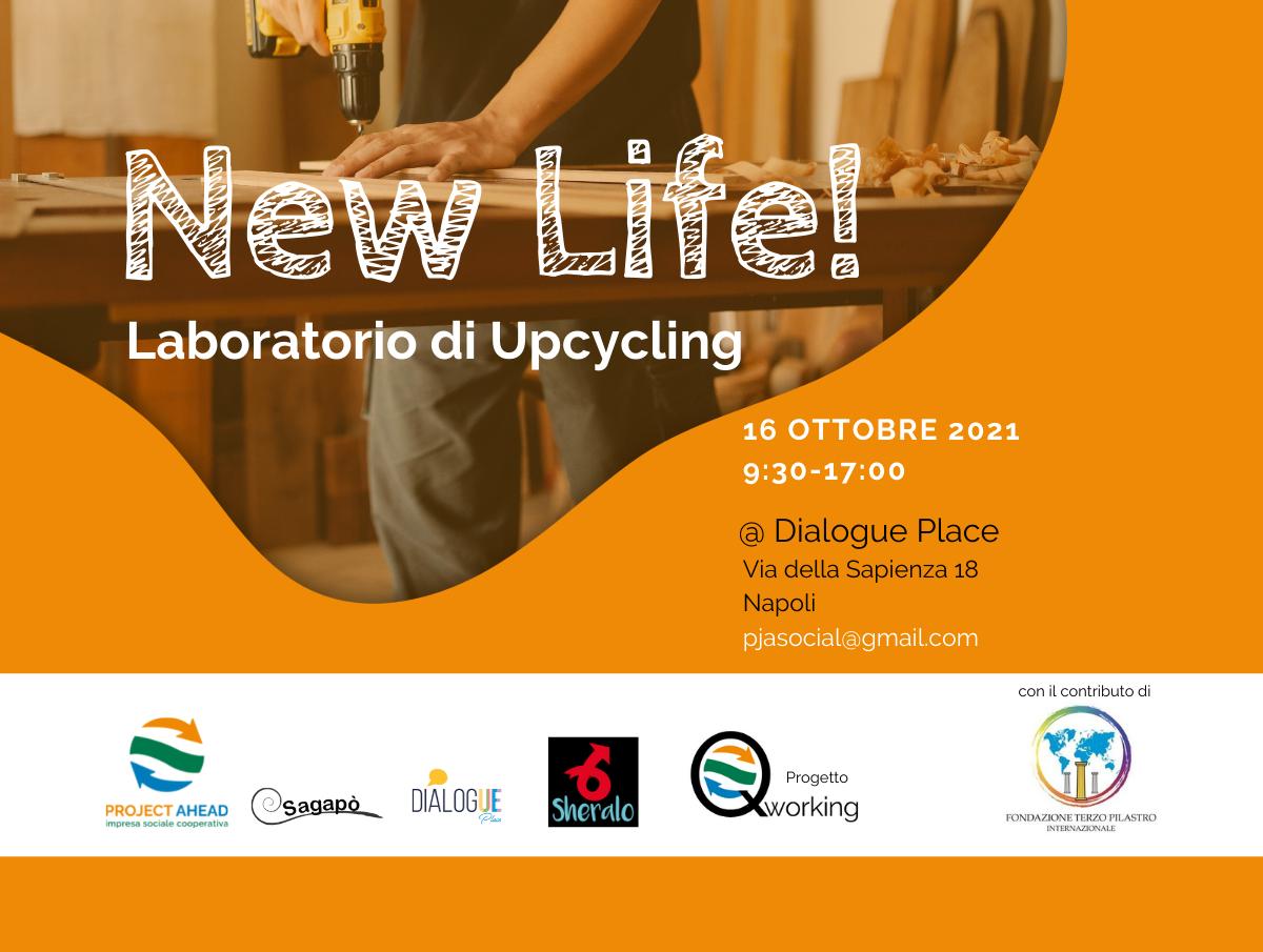 new life laboratorio upcycling